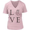 Image of Do You Love Horses? This v-neck Is for you!