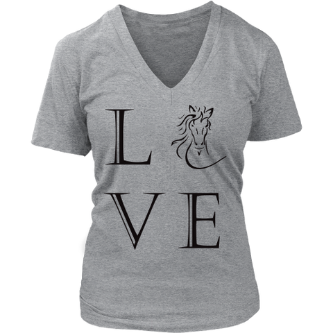 Do You Love Horses? This v-neck Is for you!