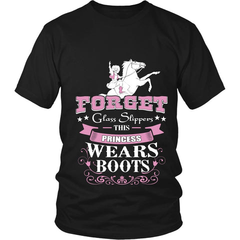 T-shirt - This Princess Wears Boots Design