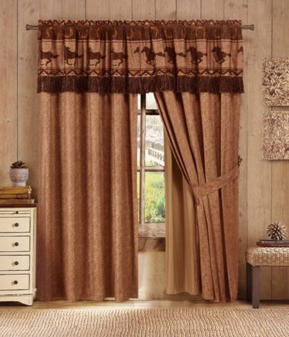 Wild Horses Design - Matching Curtains
