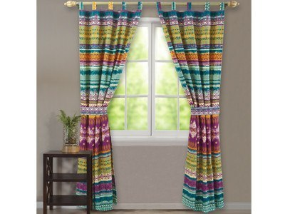 Window Treatments - Southwest Panel/Tieback Set