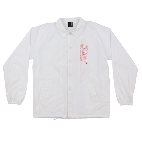Caliber Coach Jacket (White)