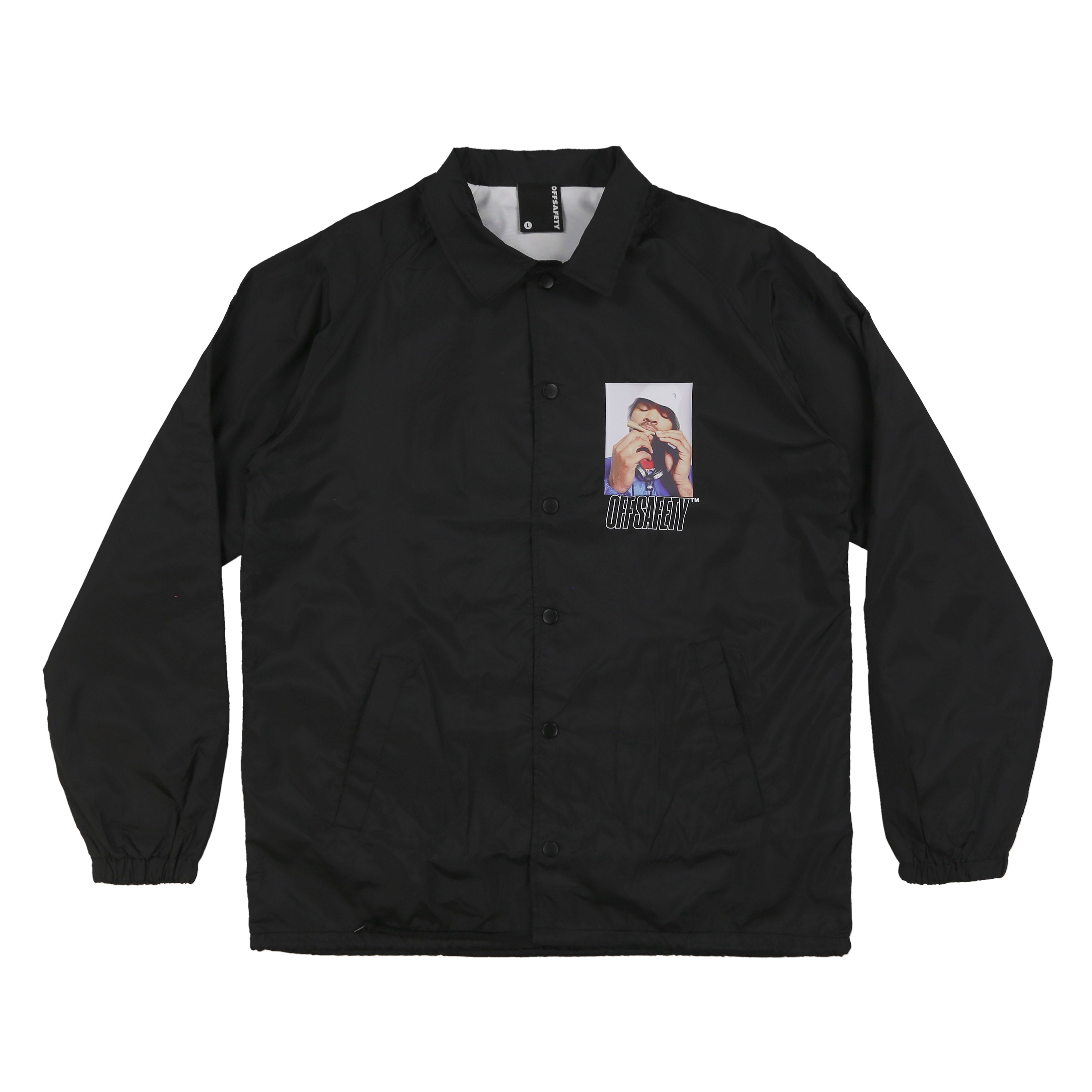 How High Coach Jacket (Black)