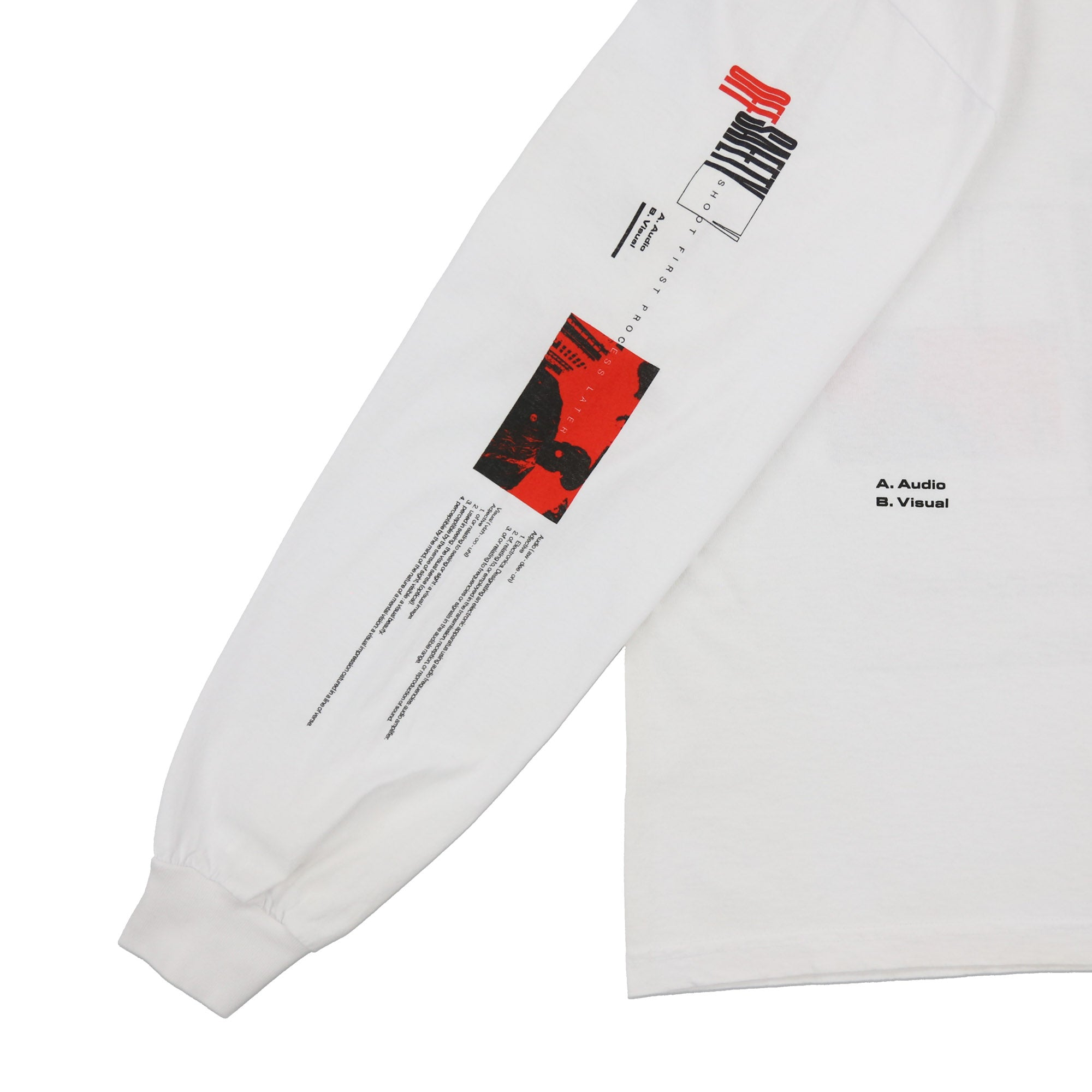 Sky's The Limit LS Tee (White)