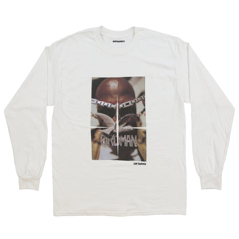 Still Fly LS Tee (White)