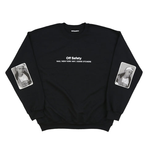 Made You Look Crewneck (Black)