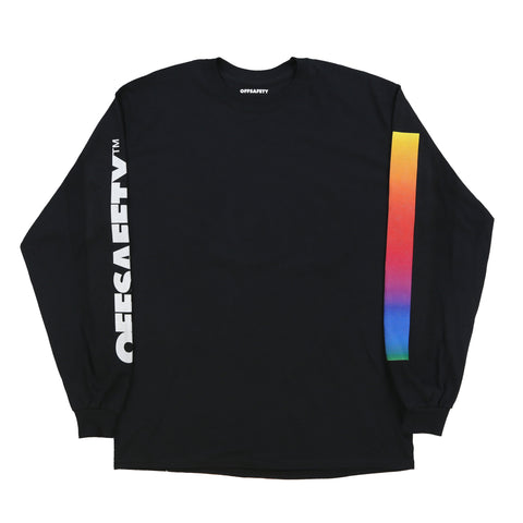 Color Lines LS Tee (Black)