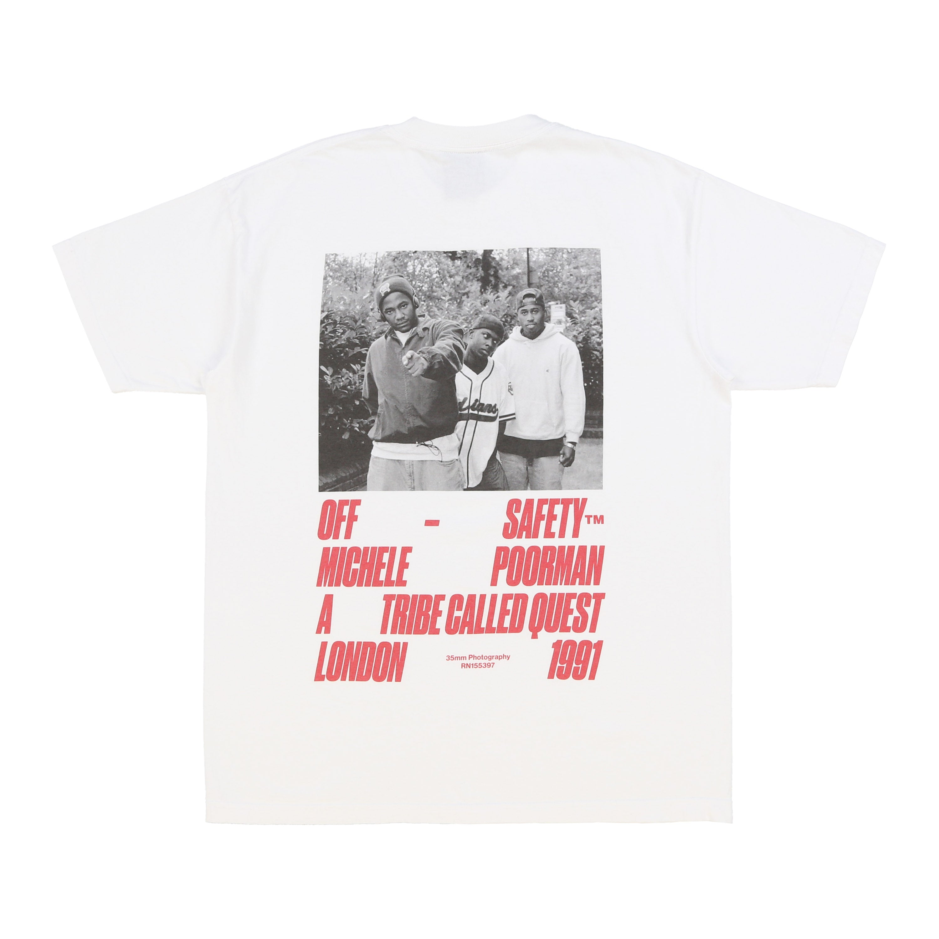 Check the Rhyme Tee (White)