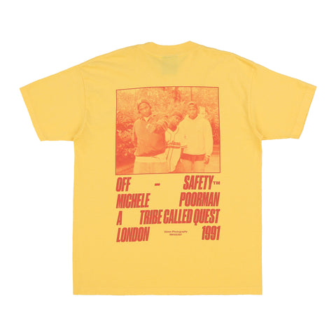 Check the Rhyme Tee (Yellow)