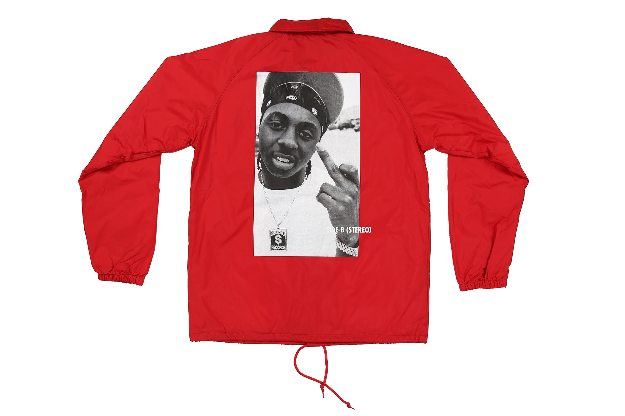 Weezy Finger Coach Jacket