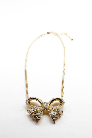 Darling Bow Necklace