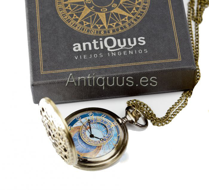 Astrolabe Pocket Watch