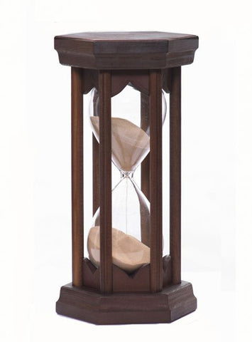 Sand For Sale >> Marquette Hourglass - Handmade wood Hourglass sand timer ...