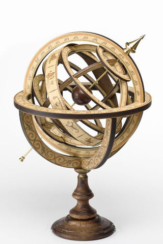 Handmad armillary sphere for sale