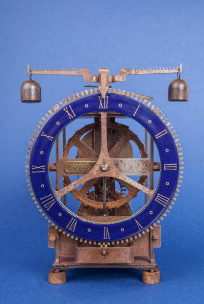 "Gothic Mechanical Iron Clock - ""Immanuel"""