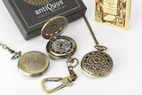 Cartography Pocket Watch