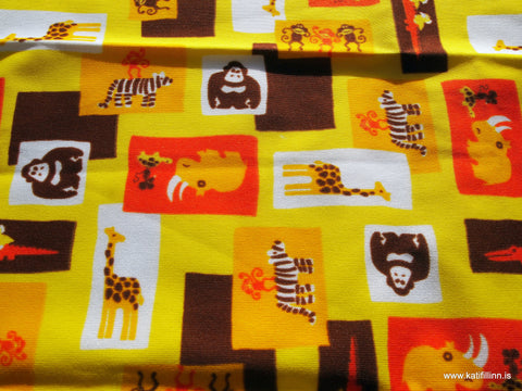 Wild Ones Yellow PUL