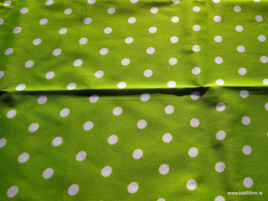 Dots on Lime PUL