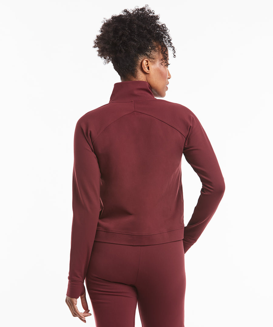 All Day Jacket | Women's Maroon