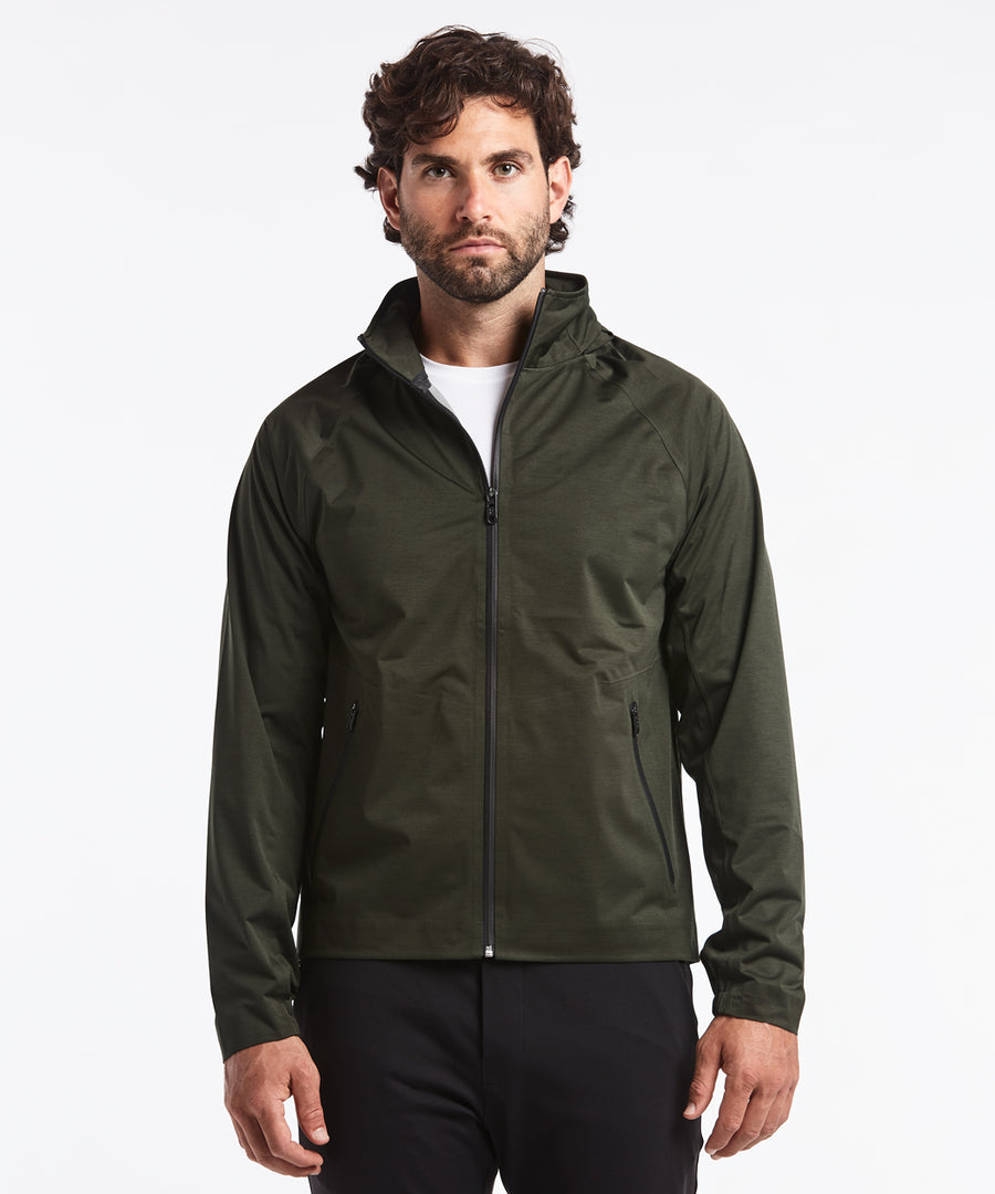 Brave The Elements Shell | Men's Dark Olive