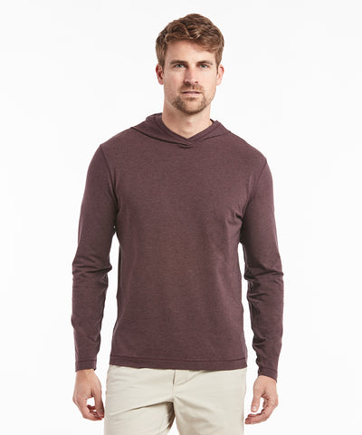Go-To Hoodie | Men's Heather Burgundy