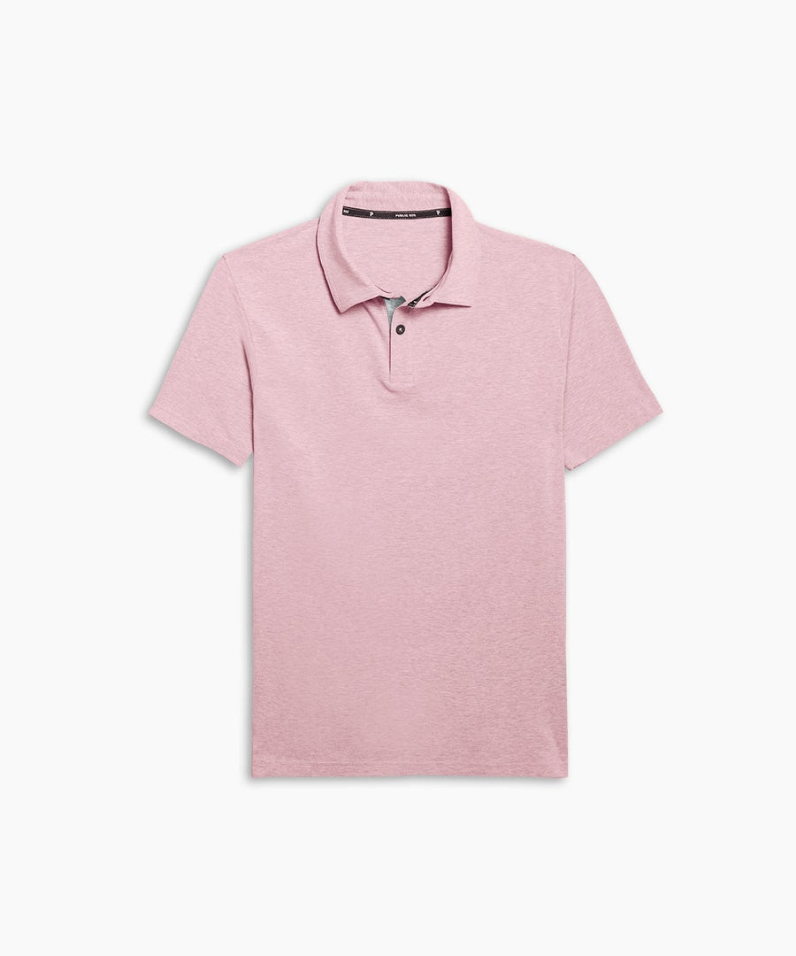 Go-To Polo | Men's Heather Pink