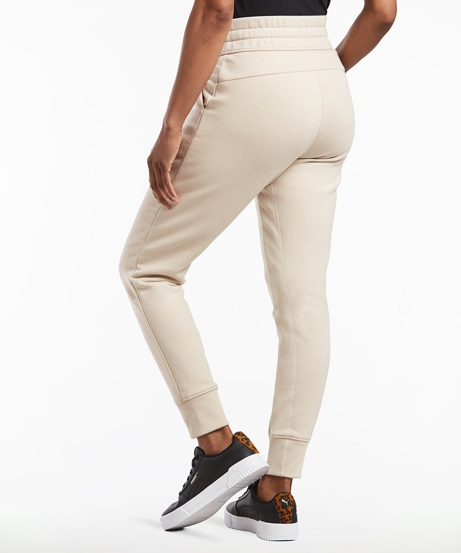 Luxe Fleece Jogger | Women's Ivory