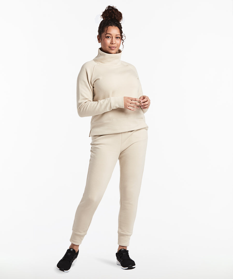 Luxe Fleece Pullover | Women's Ivory