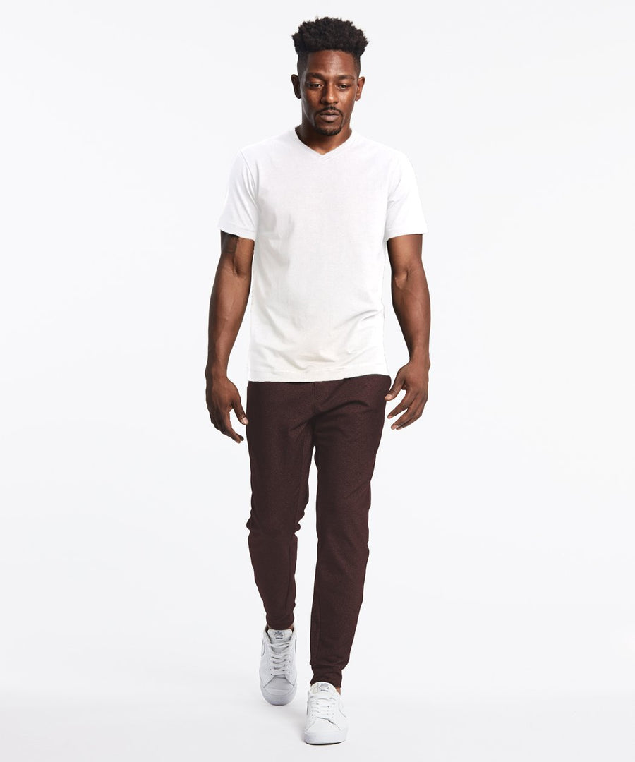 All Day Every Day Jogger | Men's Heather Burgundy