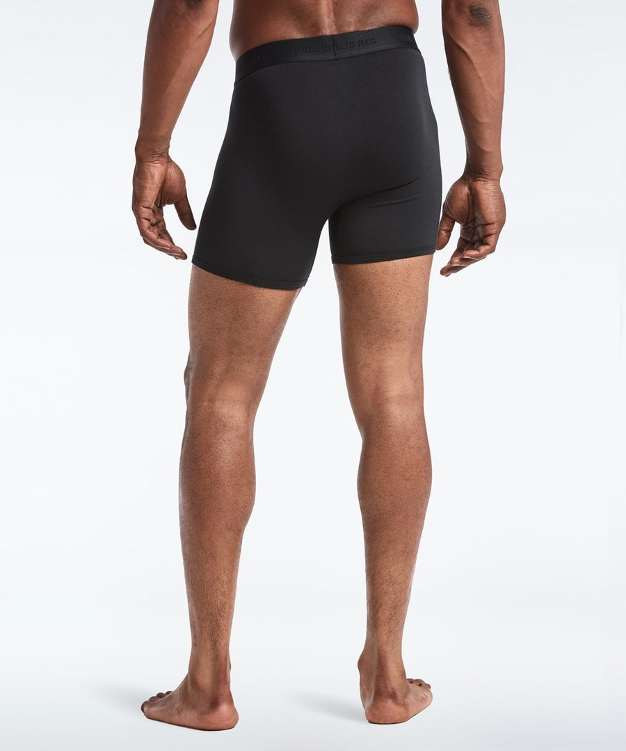 Barely There Boxer Trunk | Men's Black