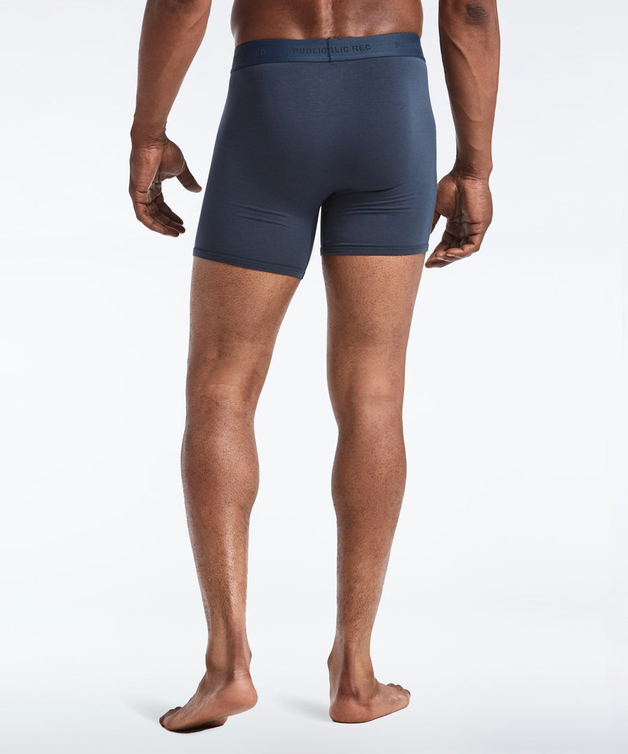 Barely There Boxer Trunk | Men's Navy