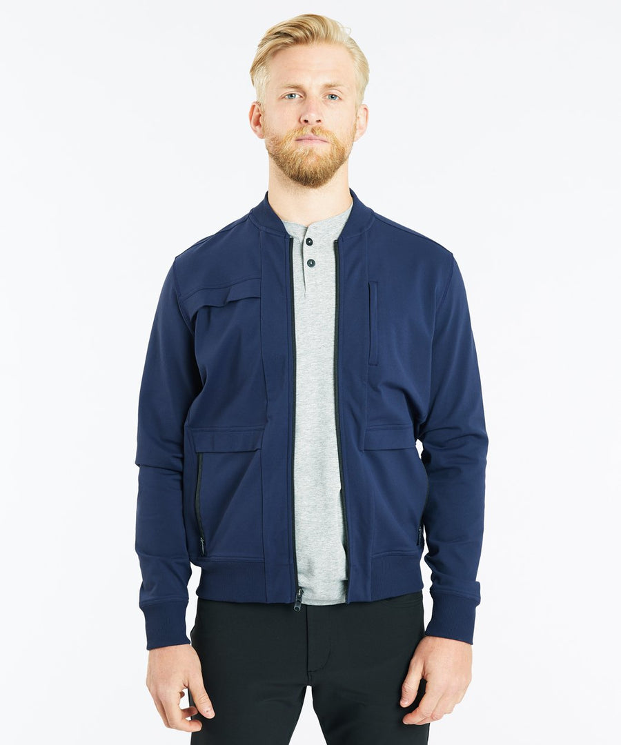 Crosstown Bomber | Men's Navy