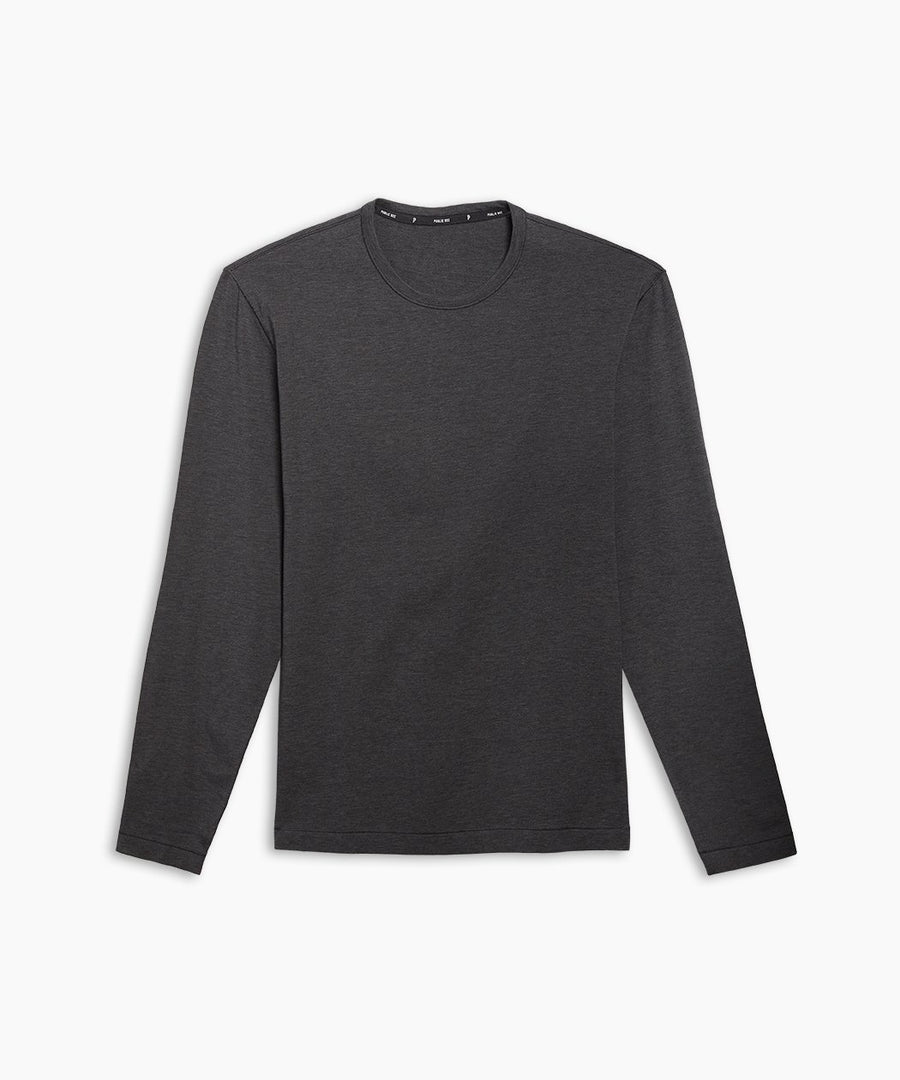 Go-To Long Sleeve | Men's Heather Charcoal