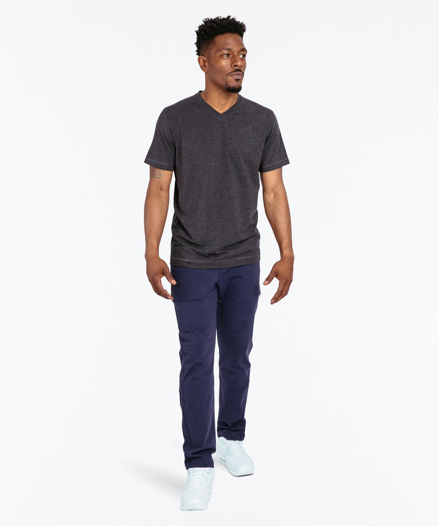 Go-To V | Men's Heather Charcoal