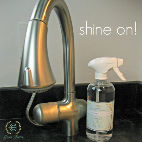 Green Genies Eco-friendly Cleaning Service Tidy Tip Tuesday - Shining up your faucets and fixtures!
