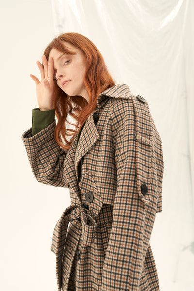 buy cashmere wool blend coat
