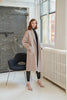 QUAINT FW 2020 DION Cashmere-wool Blend Coat - Oatmeal