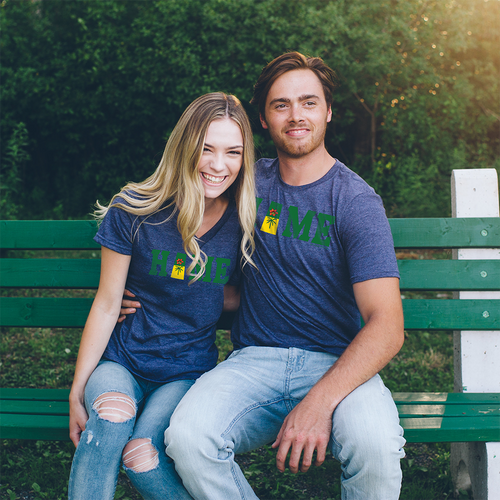 Saskatchewan Flag HOME T-shirt