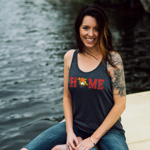 New Brunswick HOME Flag Racerback Tank