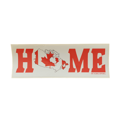 Canada HOME Bumper Sticker/Decal
