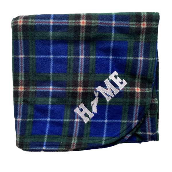 Nova Scotia Fleece Tartan Blanket