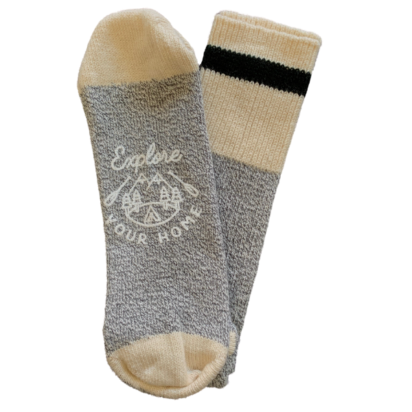 Explore Your Home Printed Cotton Socks