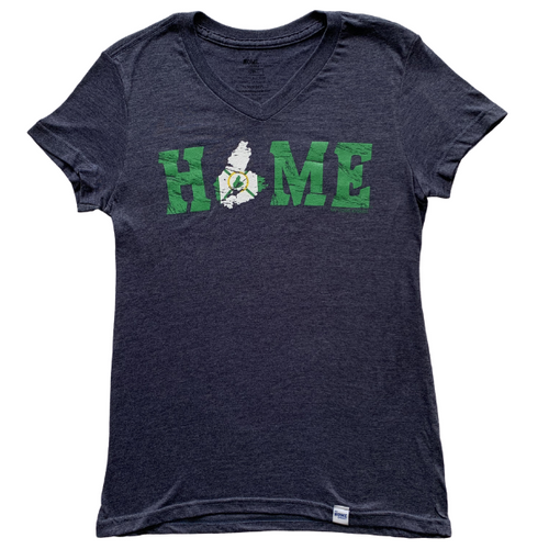 Cape Breton HOME Flag Petite Ladies' V-neck
