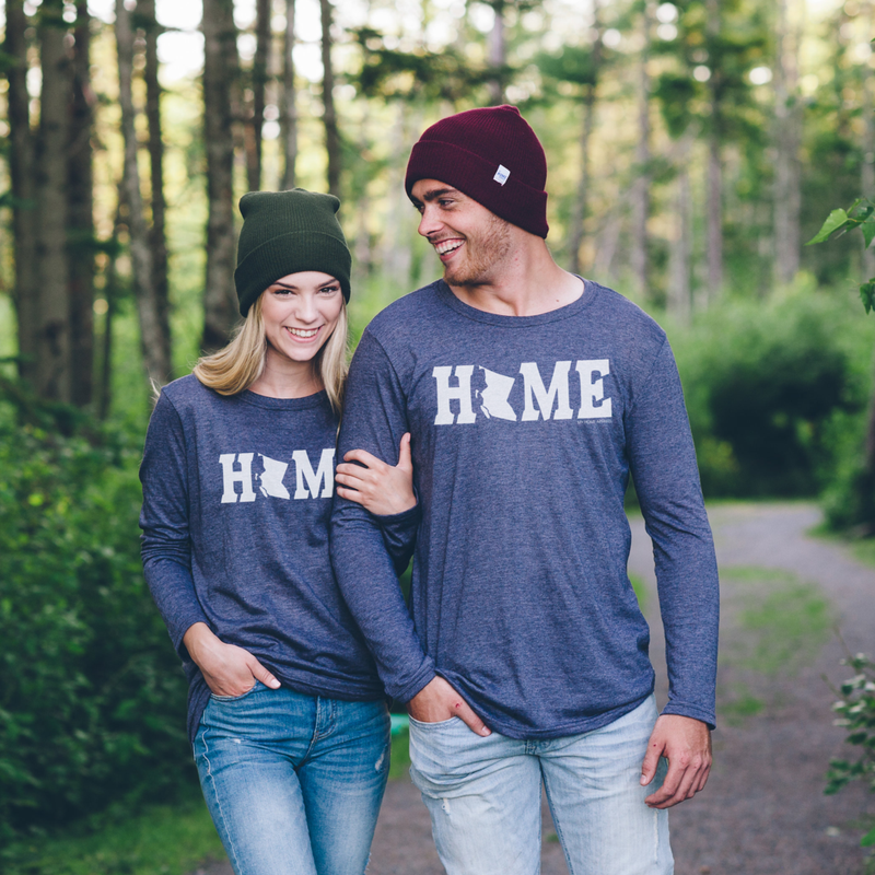 British Columbia HOME Long Sleeve Shirt