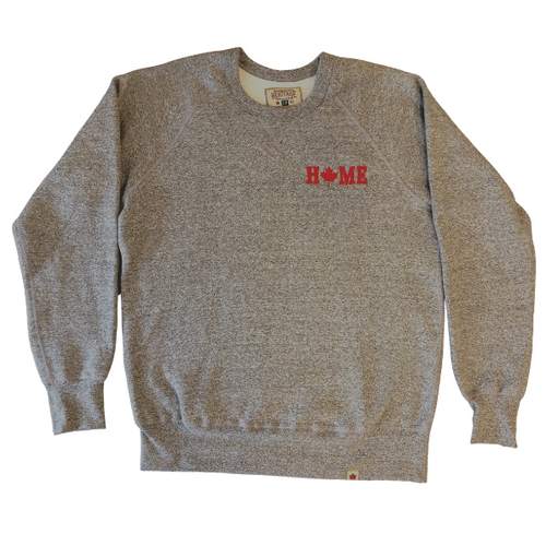 Maple Lead HOME crewneck sweater