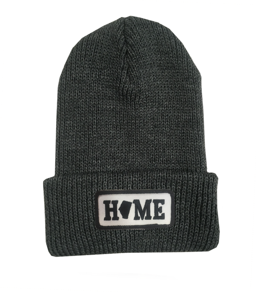 alberta home charcoal acrylic toque