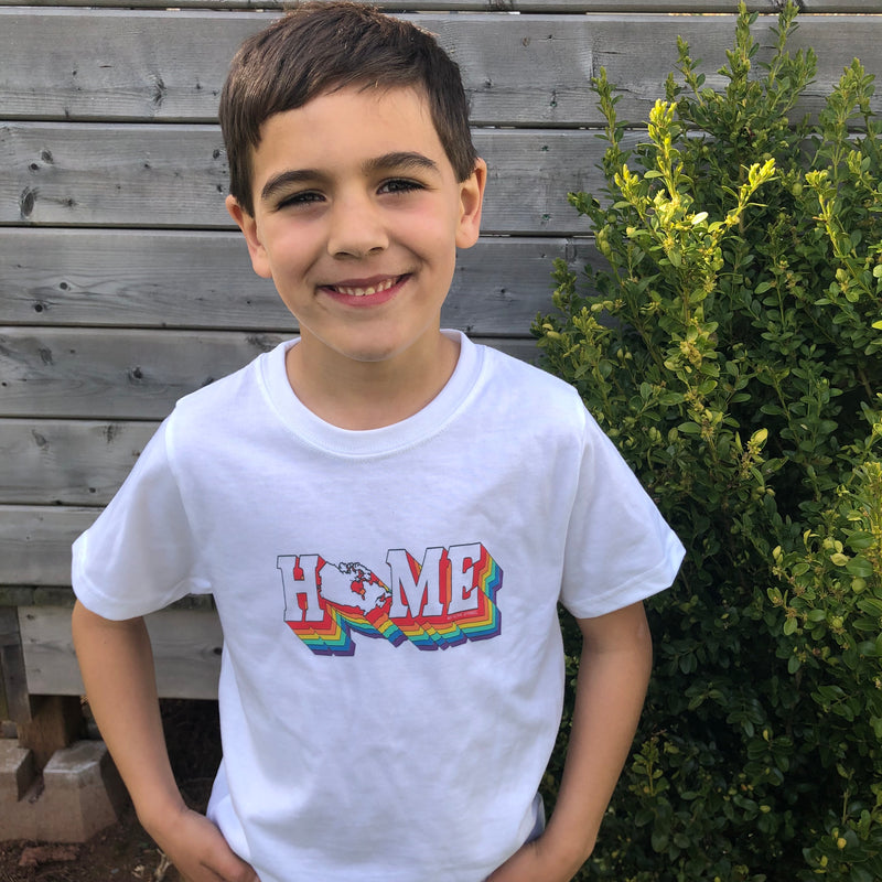 Retro Canada HOME Pride Youth T-shirt