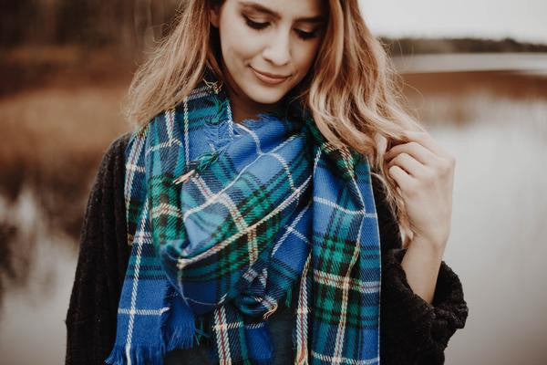 My HOME Apparel Nova Scotia Tartan Scarf, www.myhomeapparel.com