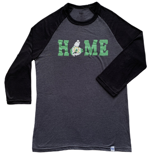 Cape Breton HOME Flag Raglan Sleeve