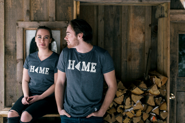 Canadian Made Yukon HOME T-Shirt, www.myhomeapparel.com